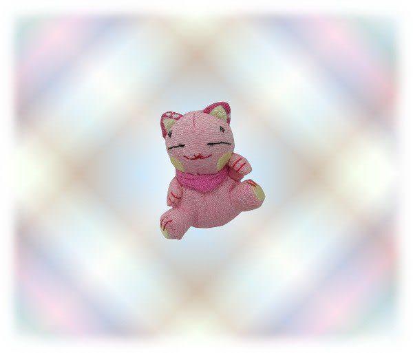 【波克貓哈日網】★開運招財貓★開運招財小吊飾 《粉紅色》選個隨身吊飾改變你的運勢!
