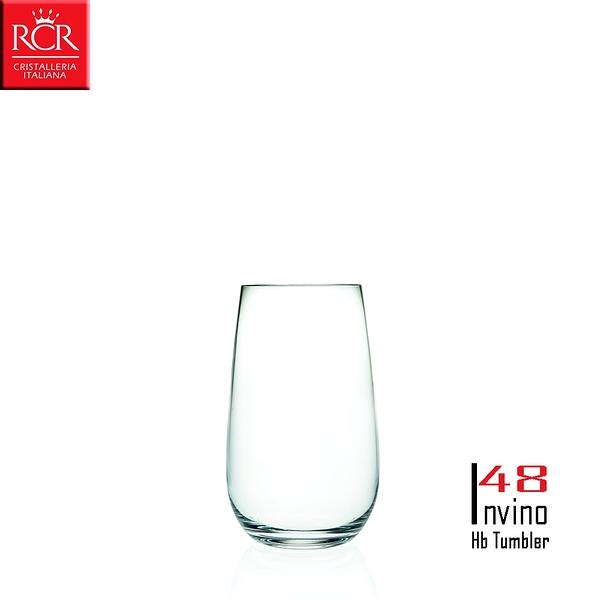 義大利RCR Invino系列 Hb Tumbler 水晶高球杯 2入組 480mL 調酒杯 雞尾酒杯 HIGHBALL