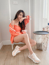 IMPACT Nike Ryz 365 國外限定 白 粉 橘 灰 裸粉橘 增高 厚底 孫芸芸著用 BQ4153-102