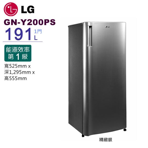 【Bevis畢維斯】LG 樂金 GN-Y200PS 191L SMART 變頻單門冰箱【公司貨】~☆限北區配送☆~