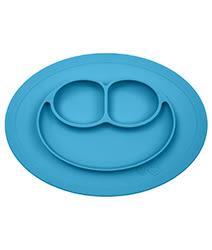 里和家居 美國EZPZ Mini Mat快樂防滑餐盤- 寶石藍(迷你版) 餐具 盤子