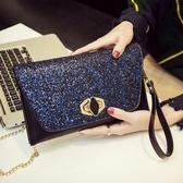 新品上新小包包女新款鎖扣手包韓版個性時尚百搭氣質宴會手