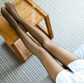 新年鉅惠假透肉打底褲女加絨加厚秋冬光腿神器薄款中厚連褲襪無縫一體透膚 小巨蛋之家