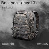 登山包/後背包 絕地求生背包三級包同款 吃雞3級雙肩包 學生電腦包戶外周邊書包