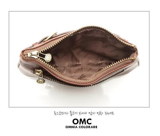 OMC - 真皮魅力款皮帶造型氣質小包