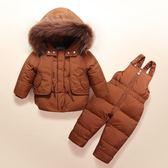 萬聖節狂歡   新品兒童羽絨服套裝女童套裝男童裝寶寶女嬰兒幼兒款  mandyc衣間