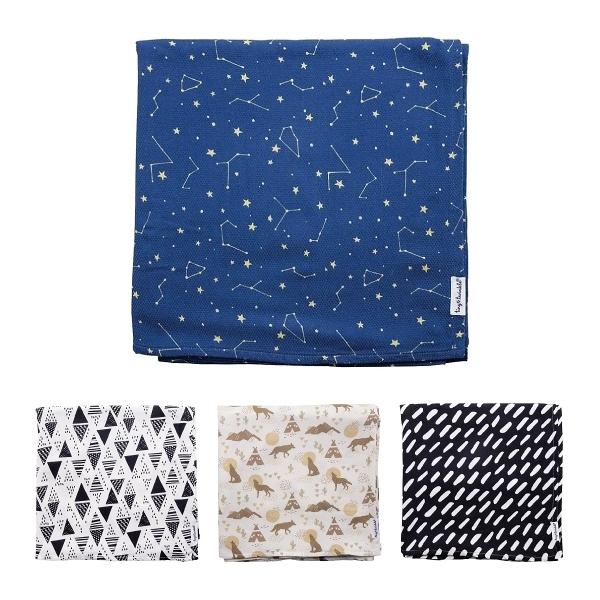 美國 tiny twinkle 紗布巾單入|包巾(7款可選)