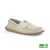 SANUK  水洗復古綁帶休閒鞋-男款1015963 WNRL(米白色)