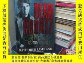 二手書博民逛書店dean罕見koontz:a writer s biograph