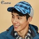 【爆殺↘45折】ADISI 格紋速乾保暖折眉護耳頸球帽 AS18064(M-L) / 城市綠洲 (帽子、球帽、保暖帽)