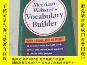 二手書博民逛書店Merriam罕見webster s vocabulary builder:韋氏詞匯構建器Y212829