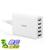 [106美國直購] Anker AK-A2124121 充電集線器 40W/8A 5-Port USB Charger PowerPort 5, Multi-Port USB Charger