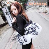 新款歐美時尚女士包包keep pursuing潮流女式手提包創意單肩手挎 【PINKQ】