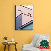【單幅】客廳裝飾畫餐廳臥室簡約現代背景墻壁畫北歐掛畫【福喜行】
