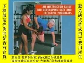 二手書博民逛書店Strength罕見Training for Senior: An Instruction Guide for D