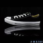 帆布鞋  低筒黑色  CONVERSE ALL STAR   【198】