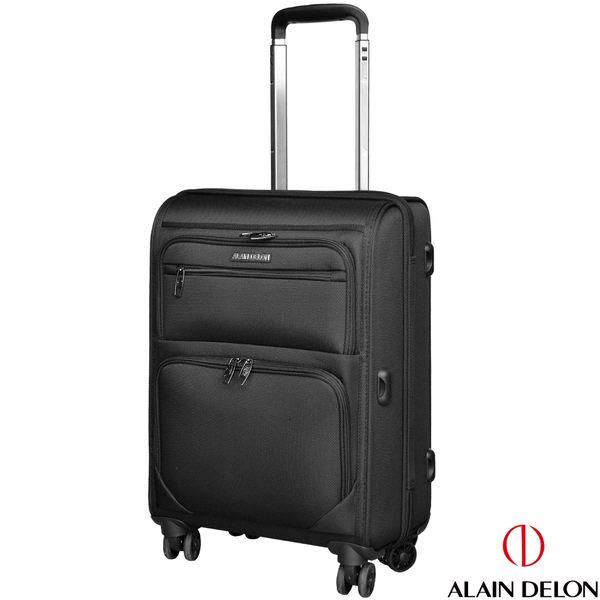 ALAIN DELON 亞蘭德倫 20吋 品味風格系列行李箱(黑)