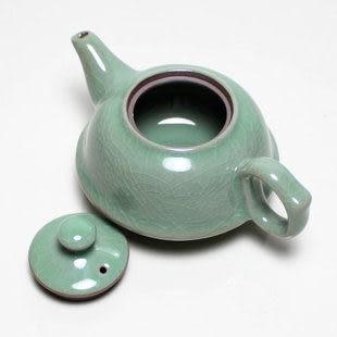 龍泉青瓷茶壺