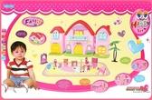大城堡別墅 娃娃房子 娃娃屋 兒童 扮家家酒 玩具 遊戲組 角色扮演 小孩玩具 小朋友生日禮物