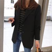 蕾可妮斯小西裝女女士西服長袖韓版修身顯瘦短款外套 阿宅便利店