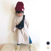 長款開岔 長版衛衣洋裝 長袖上衣 長版衛衣 長袖  長版上衣 連身裙 女童 橘魔法 現貨 童裝