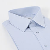 PIERRE BALMAIN 長袖襯衫F2-淺藍