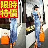 洋裝-無袖造型設計走秀款韓版連身裙61a34[巴黎精品]