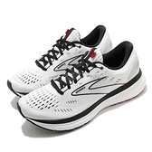 BROOKS 慢跑鞋 Glycerin 19 白 黑 男鞋 跑步 路跑 緩震 運動鞋 【ACS】 1103561D151