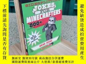二手書博民逛書店Sidesplitting罕見Jokes for Minecrafters: Ghastly Golems and