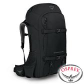 【美國OSPREY】Farpoint Trek55 自助旅行背包 55L『黑』10002069 後背包.大背包.健行.出國旅行