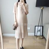 (快出)孕婦洋裝 夏裝新款時尚洋氣網紅孕婦裝潮夏款雪紡減齡孕婦裙