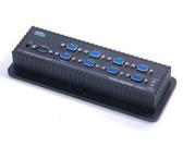 [富廉網] HANWELL 捍衛科技 VS-801A 1對8 VGA 視訊同步分配器
