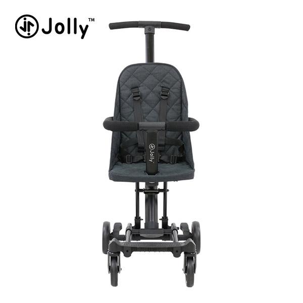 【加贈遮陽棚】英國 JOLLY 輕便摺疊手推車-豪華款(2色可選)