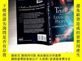 二手書博民逛書店The罕見Trulb About MANGING PEOPLE and Nothing but the Truth
