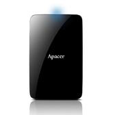 【神腦生活】Apacer AC233 1TB USB 3.1 2.5吋 外接硬碟 黑