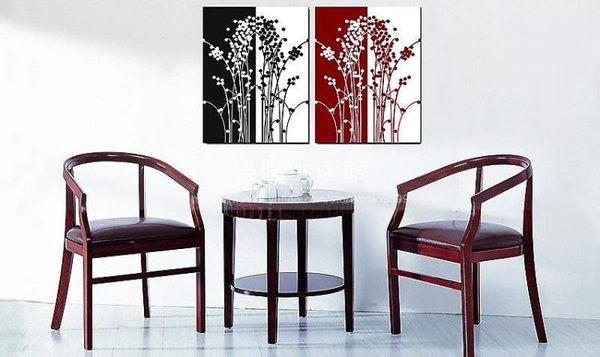 客廳裝飾壁畫/無框畫-抽象【30*40*0.9兩幅】LG-4451007