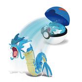 寶可夢Pokemon變形系列 暴鯉龍
