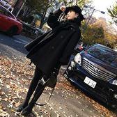 毛呢外套 韓版 Chic赫本風短款大衣  斗篷 魔法QQ ★Q0144★預購
