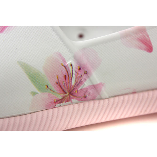 native VERONA PRINT 懶人鞋 洞洞鞋 白色 花卉 女鞋 11101801-8812 no866