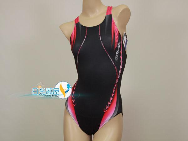 *日光部屋* TORNADO (公司貨)/PLS0975-PIN 競泳款/高抗氯/連身三角泳裝(韓國知名品牌)