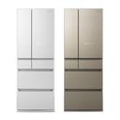 【南紡購物中心】【Panasonic 國際牌】550公升六門變頻冰箱NR-F556HX(二色)