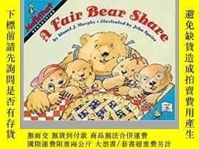 二手書博民逛書店(62)A罕見Fair Bear Share (MathStart 2) (英語) 平裝Y382716 Stu