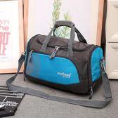 行李袋 手提旅行包女短途旅游行李包單肩運動包 女 斜挎 單肩包健身包袋