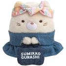 【角落生物 丹寧 迷你娃娃】角落生物 丹寧 迷你 手掌娃娃 貓咪 日本正版 該該貝比日本精品