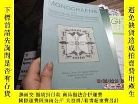二手書博民逛書店MONOGRAPHS罕見OF THE WESTERN NORTH