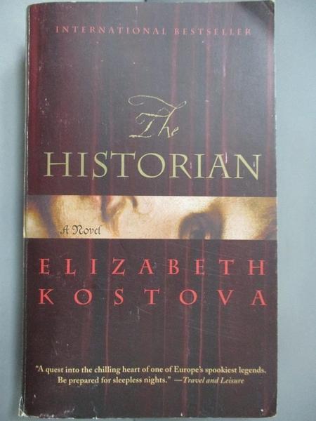 【書寶二手書T1/原文小說_NQK】The Historian_Elizabeth Kostova