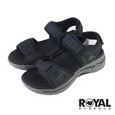 Skechers GOwalk Arch Fit Sandal 深藍色 綁帶 厚底 涼鞋 男款 NO.B2032【新竹皇家 229020NVBL】