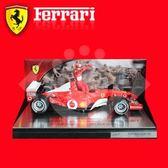 Ferrari HW-54614 義大利 法拉利 舒馬克 F1 模型車 2002 紅色 限量版 尾牙 年終 摸彩 抽獎 禮品 禮盒