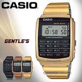 CASIO 卡西歐 手錶專賣店 CA-506G-9A DF 男錶 黑 多功能錶 不鏽鋼錶帶 計算器 秒錶 全自動日曆
