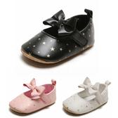 小公主蝴蝶結寶寶鞋 學步鞋 星星鞋 百搭嬰兒鞋 女寶寶童鞋 小花童鞋 88302